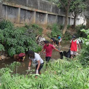 tagabe river cleanup