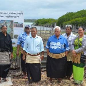 Tonga reef project will be used in other Pacific countries