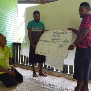 Villagers of Wairiki District ,Vanualevu at a Ridge tO Reef workshop on protecting the Labasa River Water Catchment..jpg