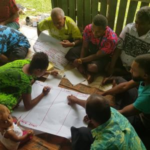 Villagers of Wairiki District Vanualevu at a workshop on protecting the Labasa Water Catchment.jpg
