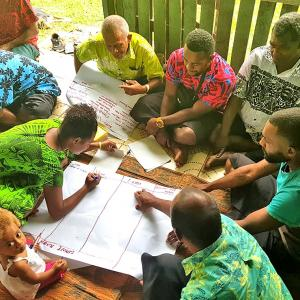 Villagers-breakdown-their-issues-at-the-workshop-organised