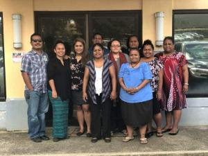FSM Ridge to Reef Program (IW&STAR) Joint National Steering Committee Meeting was held in Colonia, Yap on October 14-15, 2019. The newly expanded Steering Committee now includes each of the four states as well as IW Project's implementing partners.